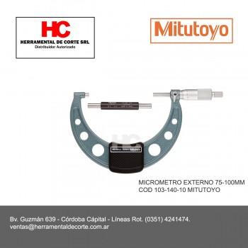 103-140-10 MICROMETRO EXTERNO 75-100MM