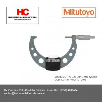 103-141-10 MICROMETRO EXTERNO 100-125MM