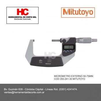293-242-30 MICROMETRO EXTERNO 50-75MM