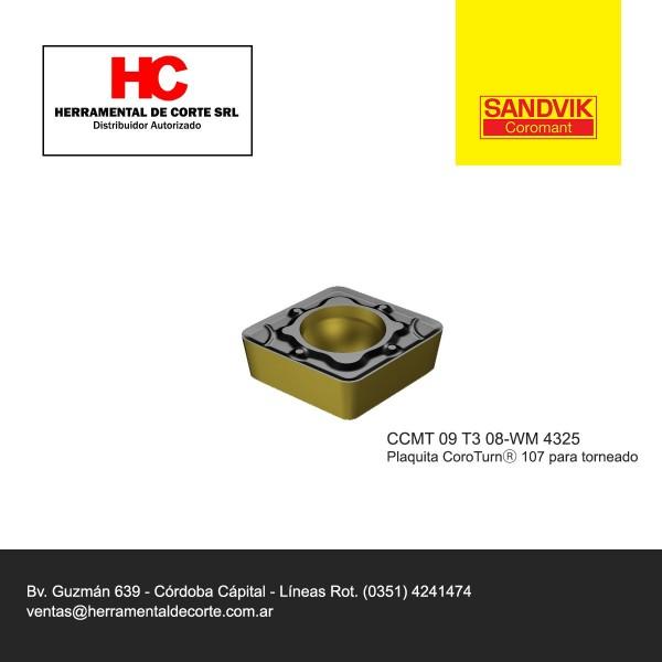 Inserto CCMT 09T308-WM 4325