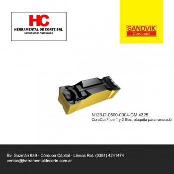 Inserto N123J2-0500-0004-GM4325
