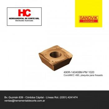 Inserto 490R-140408M-PM 1020