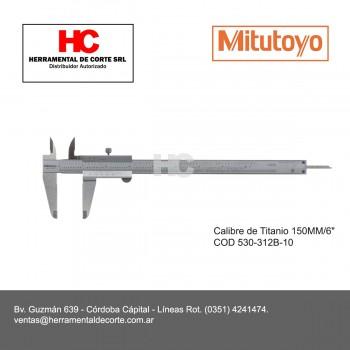 CALIBRE CON GUÍAS DE TITANIO 150MM 530-312B-10