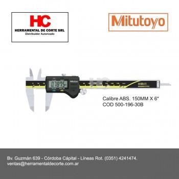 """500-196-30B CALIBRE ABS. 150MM X 6"""""""