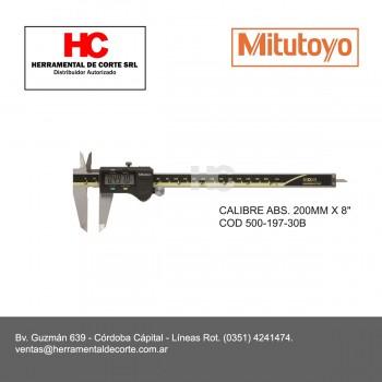 """500-197-30B CALIBRE ABS. 200MM X 8"""""""