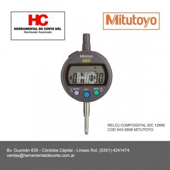 543-390B RELOJ COMP.DIGITAL IDC 12MM