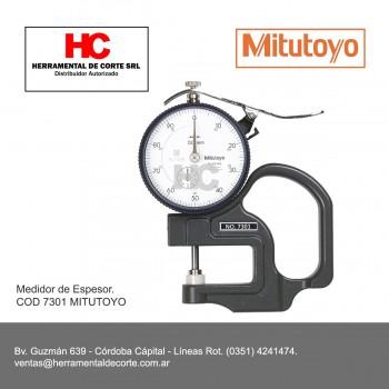 7301 MEDIDOR DE ESPESOR C/RELOJ